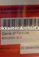 Game of Fortune
