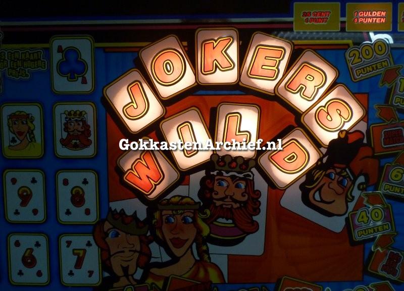 Gokkast jokers wild 2014